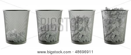 wastepapers baskets