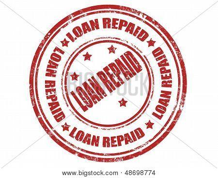 Loan Repaid-stamp