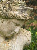 Постер, плакат: Классические женские сад статуя