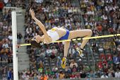 June 14 2009; Berlin Germany. BEITIA Ruth ESP competing in the high jump at the DKB ISTAF 68 Interna
