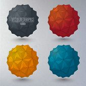 pic of dodecahedron  - 3d geometric forms - JPG
