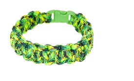 image of paracord  - Paracord survival Bracelet using a Cobra weave in a Ghecko colored cord - JPG