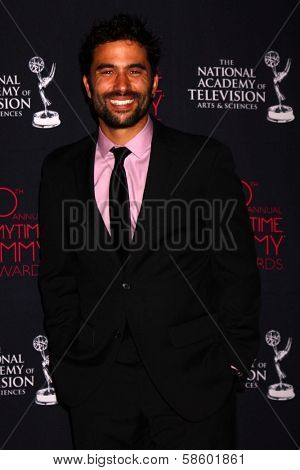 Ignacio Serricchio at the 2013 Daytime Creative Emmys, Bonaventure Hotel, Los Angeles, CA 06-14-13