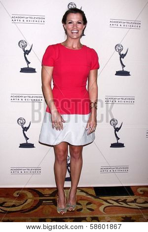 Melissa Claire Egan at the Daytime Emmy Nominees Reception presented by ATAS, Montage Beverly Hills, CA 06-13-13