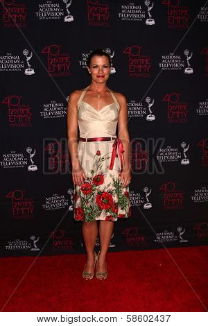 Melissa Claire Egan at the 2013 Daytime Creative Emmys, Bonaventure Hotel, Los Angeles, CA 06-14-13