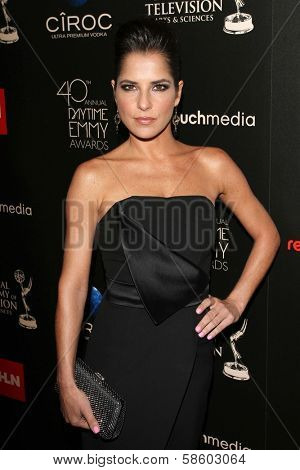 Kelly Monaco at the 40th Annual Daytime Emmy Awards, Beverly Hilton Hotel, Beverly Hills, CA 06-16-13
