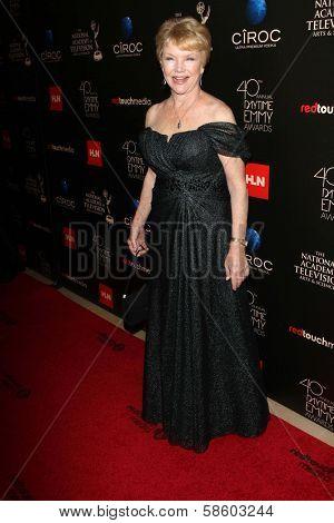 Erika Slezak at the 40th Annual Daytime Emmy Awards, Beverly Hilton Hotel, Beverly Hills, CA 06-16-13