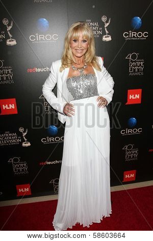 Britt Ekland at the 40th Annual Daytime Emmy Awards, Beverly Hilton Hotel, Beverly Hills, CA 06-16-13