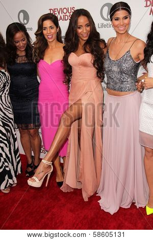 Judy Reyes, Ana Ortiz, Dania Ramirez and Roselyn Sanchez at the