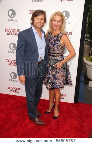 Grant Show and Katherine LaNasa at the