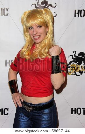 Vera VanGuard at the Comikaze red carpet Launch Party, Whimsic Alley, Los Angeles, CA 06-21-13