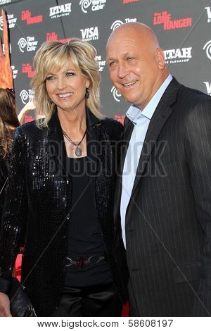 Cal Ripken Jr. and wife Kelly Ripken at
