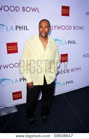 Eriq La Salle at the Hollywood Bowl Hall of Fame Opening Night, Hollywood Bowl, Hollywood, CA 06-22-13