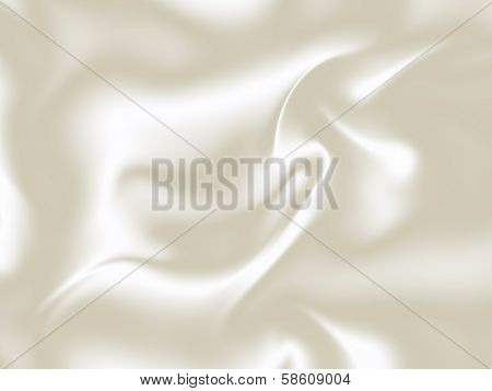 White silk 3D texture background