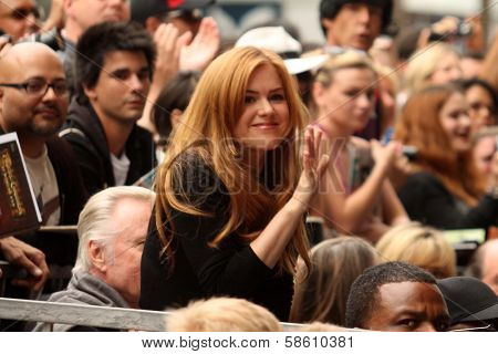 Isla Fisher at the Jerry Bruckheimer Star on the Hollywood Walk of Fame ceremony, Hollywood, CA 06-24-13