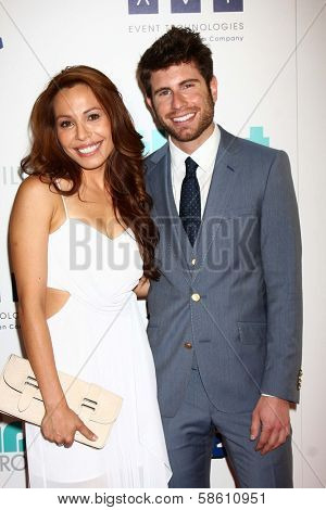 Jordan Wall and guest at the 4th Annual Thirst Gala, Beverly Hilton Hotel, Beverly Hills, CA 06-25-13