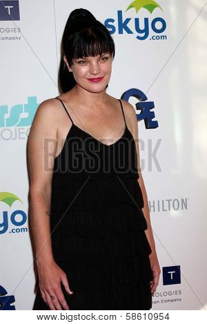 Pauley Perrette at the 4th Annual Thirst Gala, Beverly Hilton Hotel, Beverly Hills, CA 06-25-13