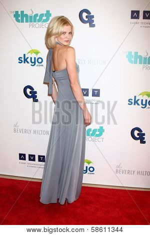 Angel McCord at the 4th Annual Thirst Gala, Beverly Hilton Hotel, Beverly Hills, CA 06-25-13