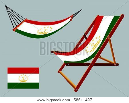 Tajikistan Hammock And Deck Chair