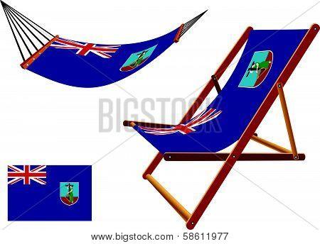 Montserrat Hammock And Deck Chair Set