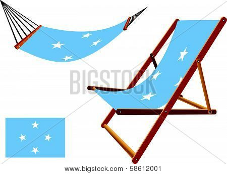 Micronesia Hammock And Deck Chair Set