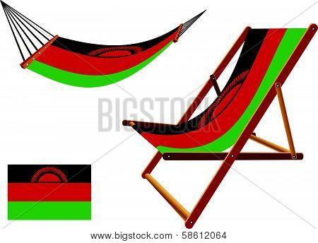 Malawi Hammock And Deck Chair Set