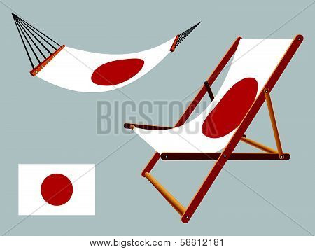 Japan Hammock And Deck Chair Set