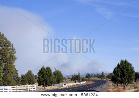 Fire On West Butte