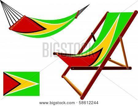 Guyana Hammock And Deck Chair Set