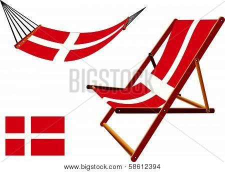 Denmark Hammock And Deck Chair Set