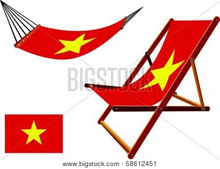 Vietnam Hammock And Deck Chair