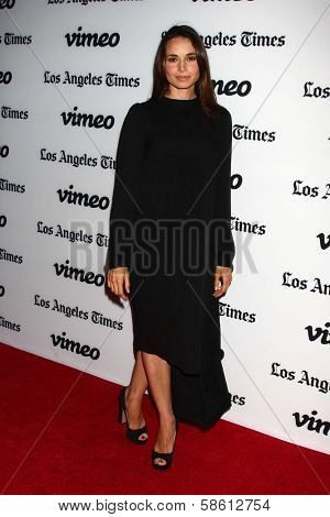 Mia Maestro at the