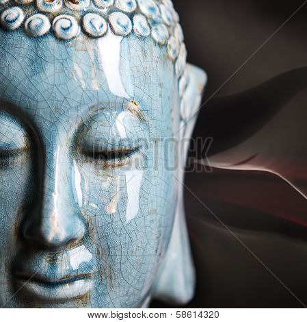 Buddha Close Up Portrait