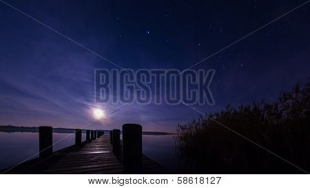 Moonrise Jetty