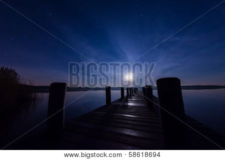 Moonlight Jetty