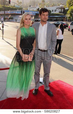 Diane Kruger and Joshua Jackson at