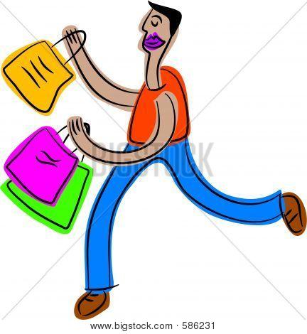 Einkaufen Guy