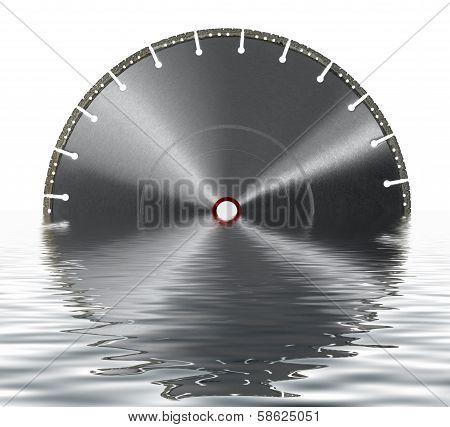 Sunken Cutting Wheel