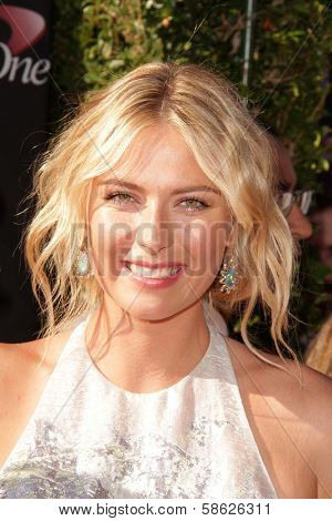 Maria Sharapova at The 2013 ESPY Awards, Nokia Theatre L.A. Live, Los Angeles, CA 07-17-13
