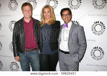 Don Roos, Lisa Kudrow and Dan Bucatinsky at The Paley Center Presents: An Evening With