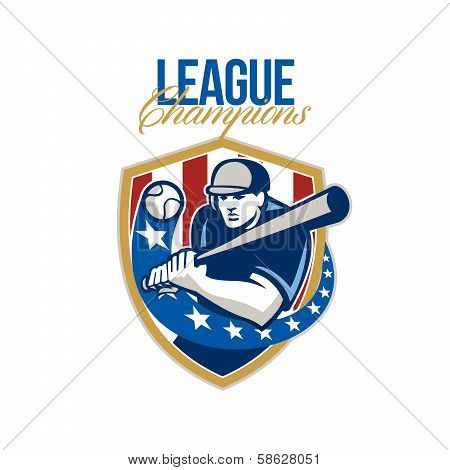 Baseball League Champions Retro