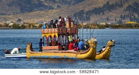 Totora On Lake Titicaca