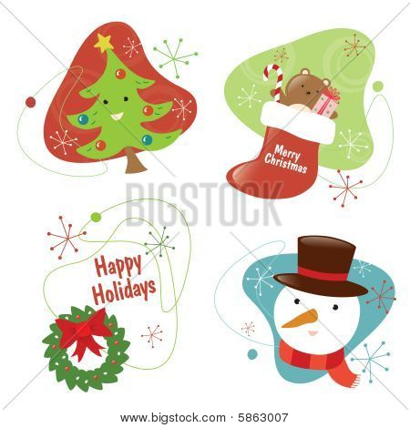 50S Chritmas Set 2 Isolated