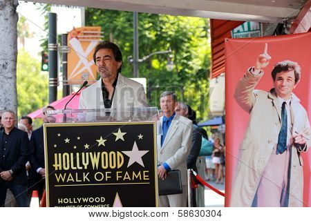 Joe Mantegna at the Peter Falk Star on the Hollywood Walk of Fame Ceremony, Hollywood, CA 07-25-13
