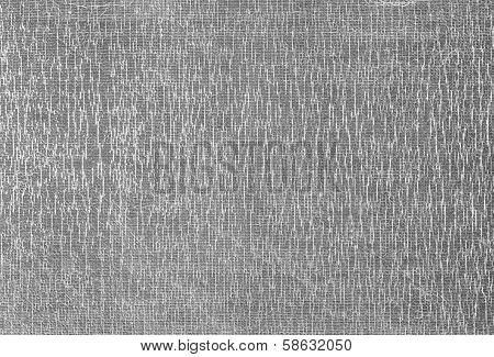 Metal Pixel Texture, Silver Mosaic Squares Background