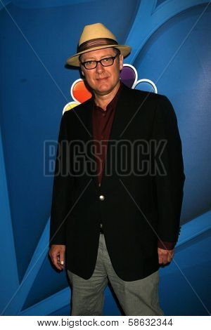 James Spader at the NBC Press Tour, Beverly Hilton, Beverly Hills, CA 07-27-13