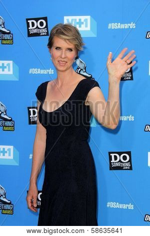 Cynthia Nixon at DoSomething.org And VH1's 2013 Do Something Awards, Avalon, Hollywood, CA 07-31-13