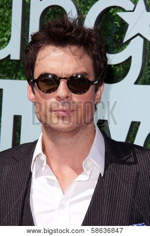 Ian Somerhalder at the 15th Annual Young Hollywood Awards, Broad Stage, Santa Monica, CA 08-01-13