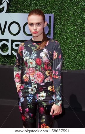Holland Roden at the 15th Annual Young Hollywood Awards, Broad Stage, Santa Monica, CA 08-01-13