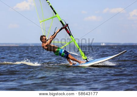 High Speed Windsurfer